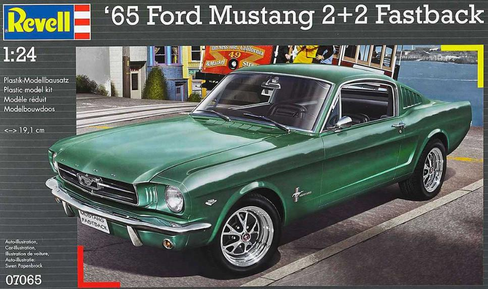 Revell 1965 Ford Mustang 2+2 Fastback 1:25 07065