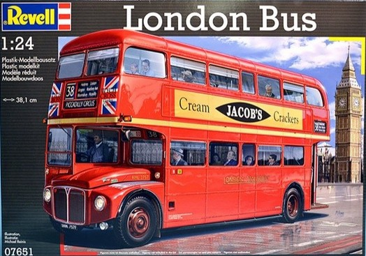Revell London Bus 1:24 07651