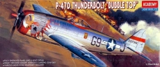 Academy P-47D Thunderbolt Buble Top 1:72 12491