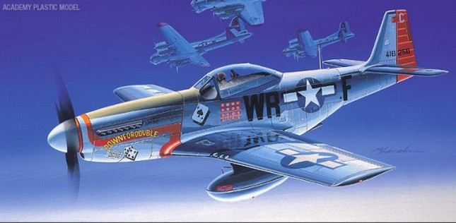 Academy North American P-51D Mustang 1:72 12485