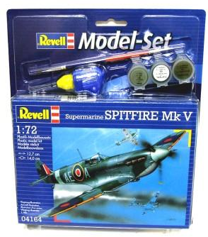 Revell Spitfire Mk.V Model Set 1:72 64164