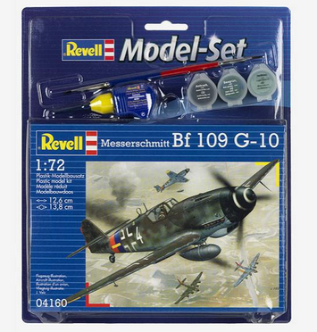 Revell Model Set Messerschmitt Bf 109 G- 10 1:72 64160