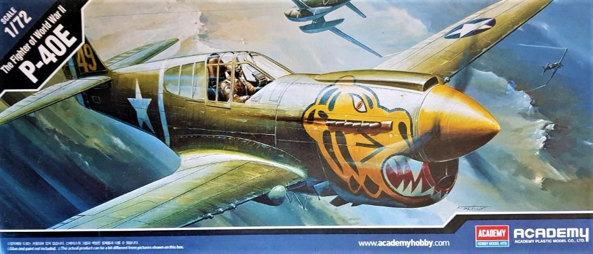 Academy Curtiss P-40E 1:72 12468