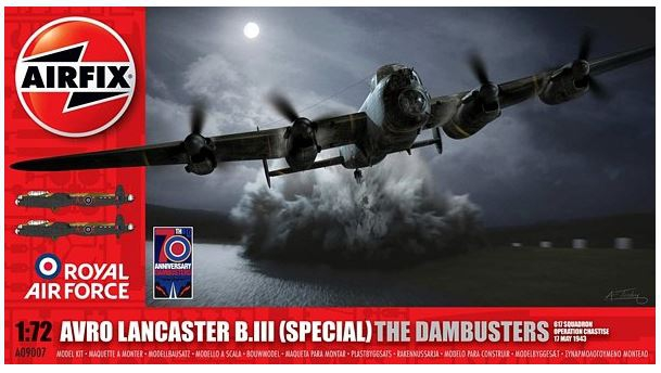 Airfix Avro Lancaster B.III (special) The Dambuster 1:72 A09007