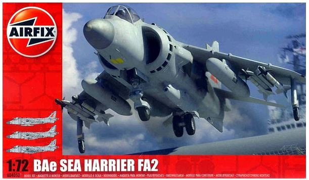Airfix BAe Sea Harrier FA2 1:72 A04052
