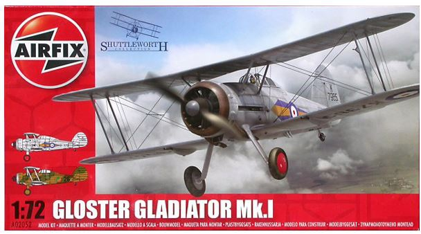 Airfix Gloster Gladiator Mk.I 1:72 A02052