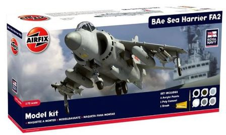Airfix Bae Sea Harrier FA.2 Gift-Set 1:72 A50017