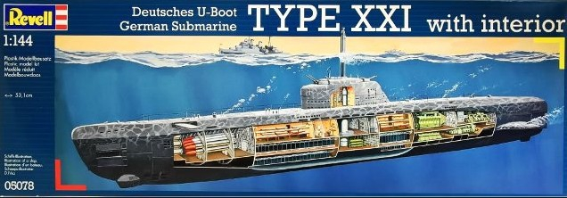 for Deutsches u boot typ xxi mit interieur