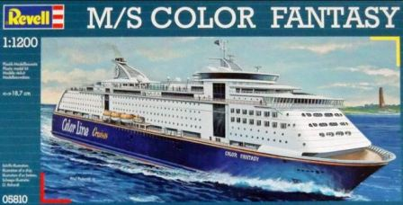 Revell M/S Color Fantasy 1:1200  05810