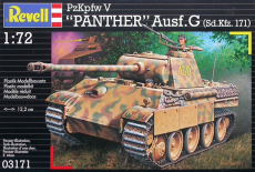 Revell PzKpfw V Panther Ausf. G 1:72 03171