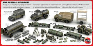 Airfix RAF Bomber Re-Supply Set 1:72 A05330