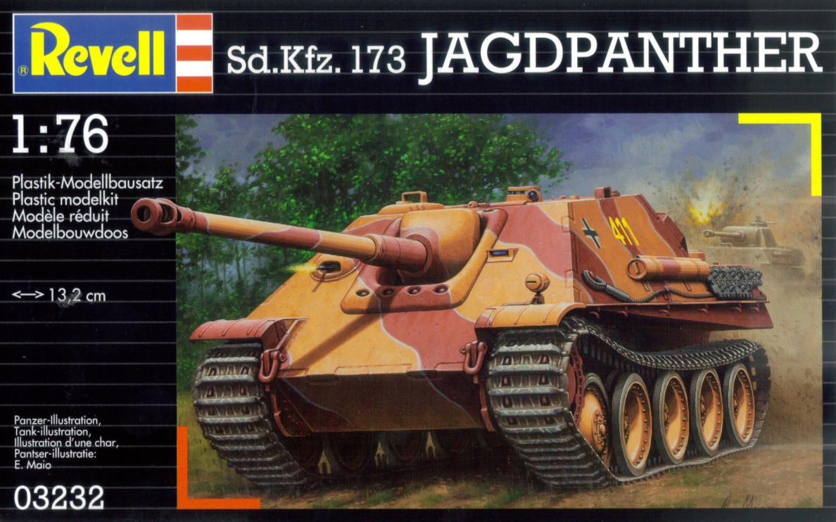 Revell Sd.Kfz.173 Jagdpanther 1:76 03232