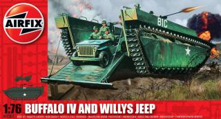 Airfix Buffalo Willys MB Jeep 1:76  A02302