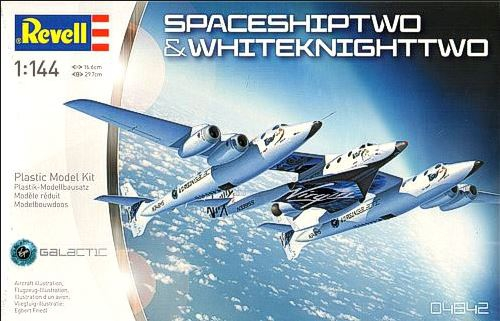 Revell SpaceShipTwo & Carrier White Knight Two 1:144 04842