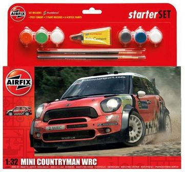 AIRFIX BMW Mini WRC Starter Set 1:32 A55304