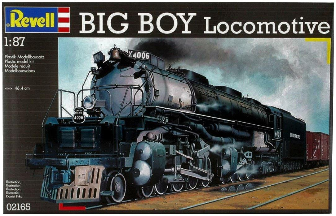 Revell Big Boy Locomotive 1:87 02165