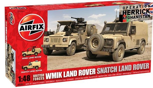 Airfix Landrover British Forces 2 ks 1:48 A06301