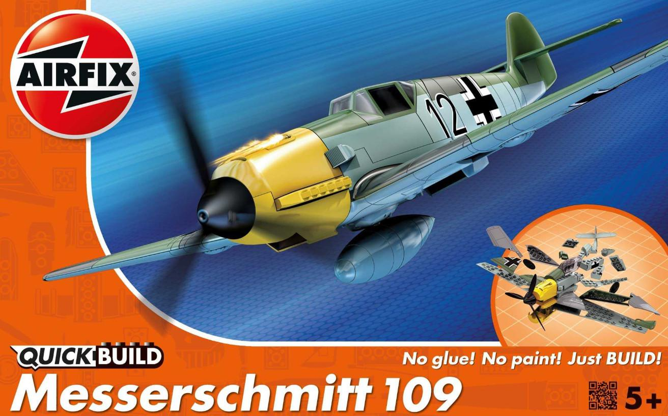 Airfix Messerschmitt 109 Quick Build J6001