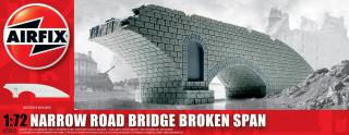 Airfix Narrow road bridge broken span1:72 A75012