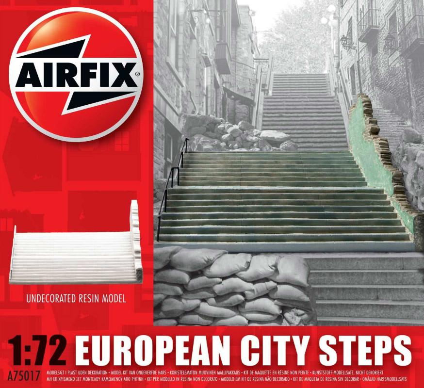 Airfix European City Steps 1:72 A75017