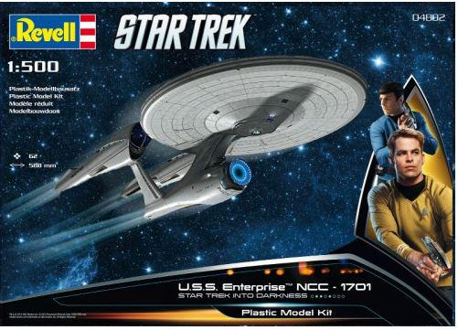 Revell U.S.S. Enterprise NCC-1701 INTO DARKNESS 1:500 04882