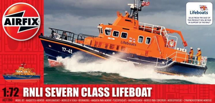 Airfix RNLI Severn Class Lifeboat 1:72 A07280