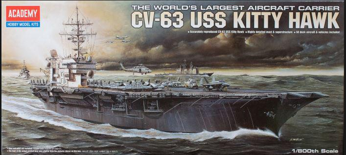 Academy USS Kitty Hawk CV 63 1:800 14210