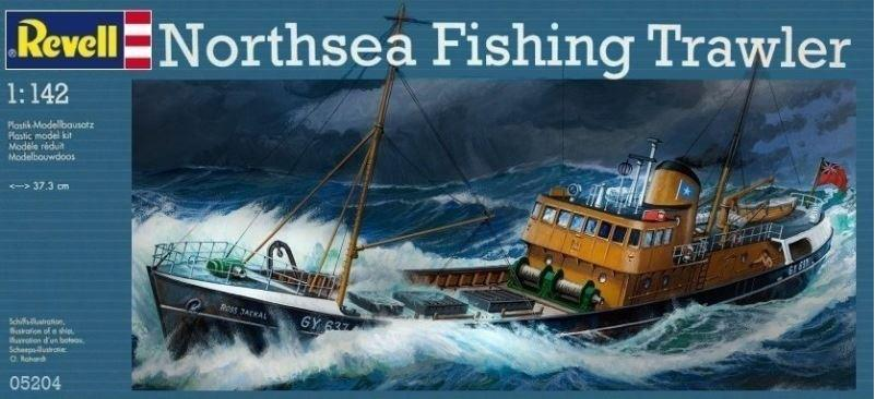 Revell Northsea Fishing Trawler 1:142 05204