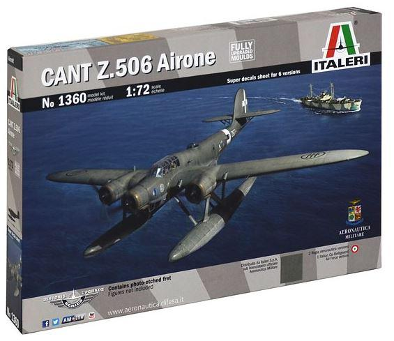 Italeri CANT Z 506 AIRONE 1:72 1360