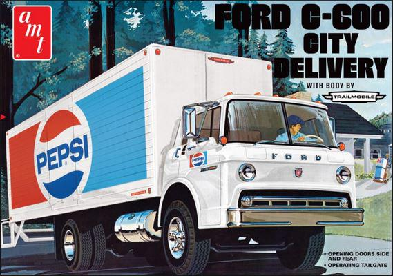 AMT FORD C-600 City Delivery 1:25 AMT804