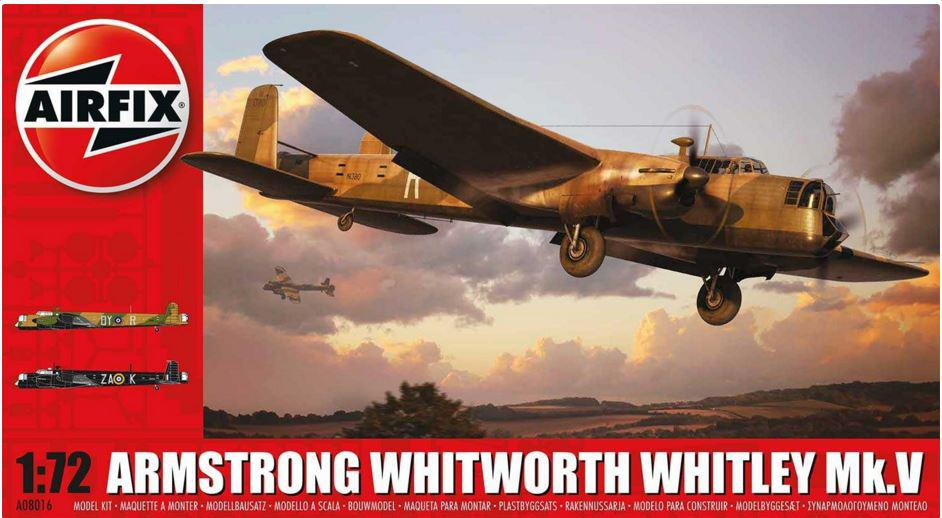 Airfix Armstrong Whitworth Whitley Mk.V 1:72  a08016