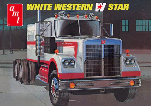 AMT White Western Star Semi Tractor 1:25  AMT724