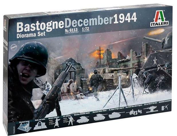 Italeri Battle of Bastogne diorama set 1:72 6113