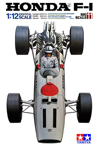 Tamiya Honda RA273 w/Photo-Etched parts 1:12 12032