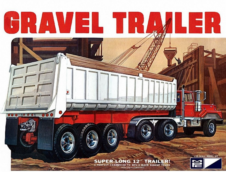 MPC Gravel Trailer 1:25 MPC823