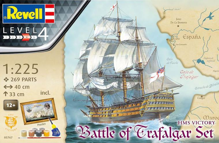 Revell Battle of Trafalgar Gift-Set 1:225 05767