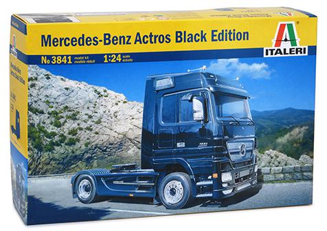 Italeri Mercedes-Benz Actros Black Edition 1:24 3841