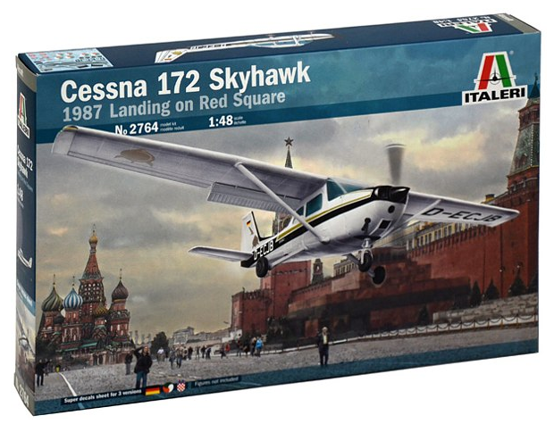 Italeri CESSNA 172 SKYHAWK - Landing on Red Square (1987) 1:48 2764
