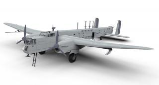 Airfix Armstrong Whitworth Whitley GR.Mk.VII  1:72 A09009