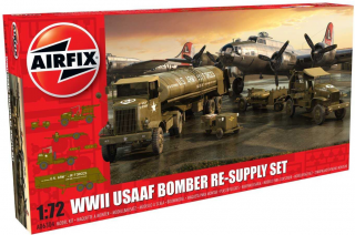 Airfix USAAF 8TH Airforce Bomber Resupply Set 1:72 A06304