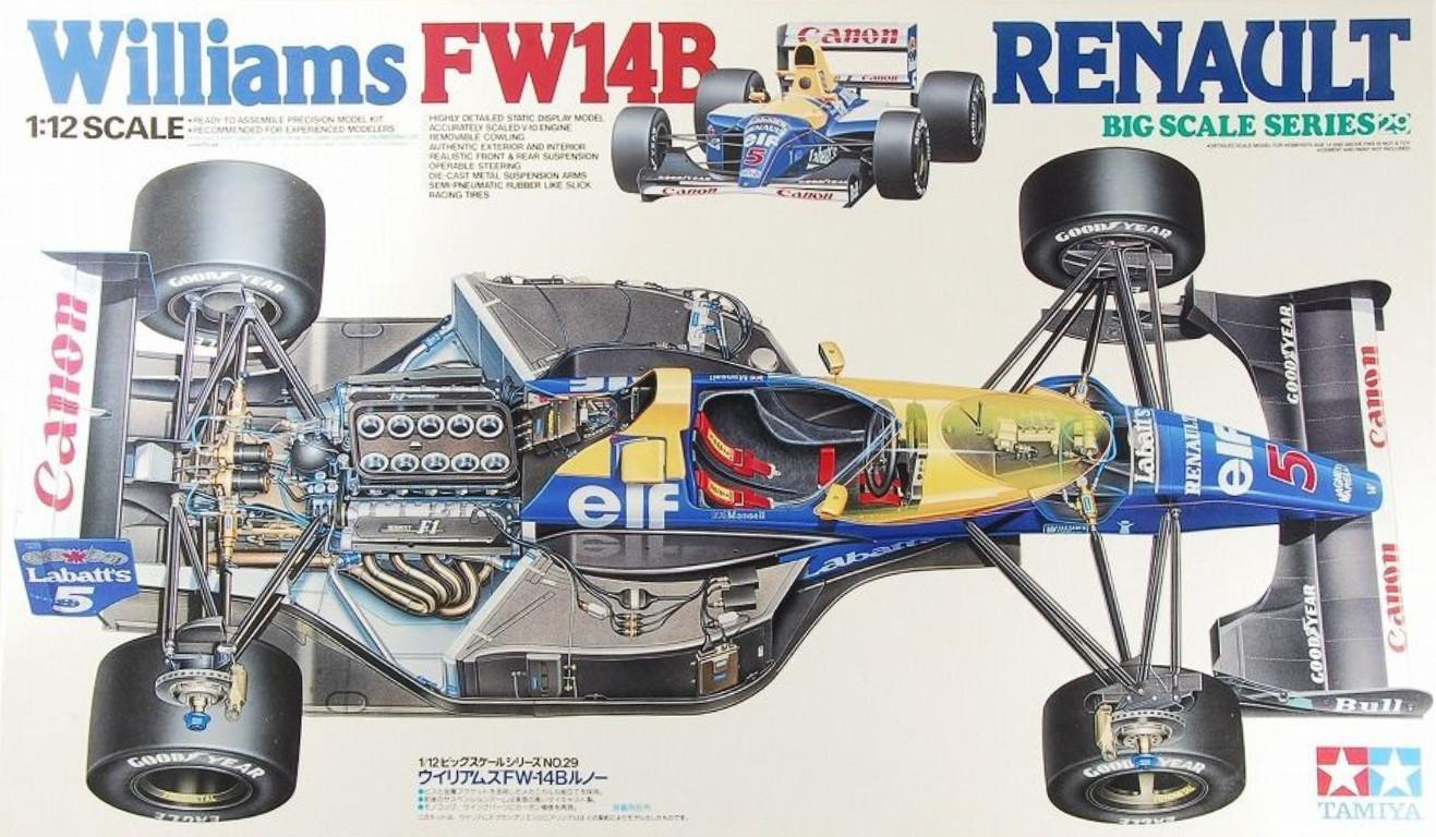 Tamiya Williams FW14B Renault 1:12 12029