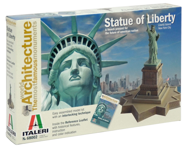 Italeri The Statue Of Liberty 1:650 68002