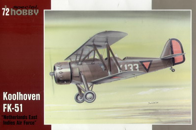 Special Hobby Koolhoven FK-51 Netherlands East Indies 1:72