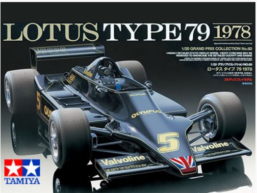 Tamiya Lotus Type 79 1978 1:20