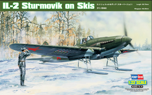 Hobby Boss IL-2 Sturmovik in Skis 1:32