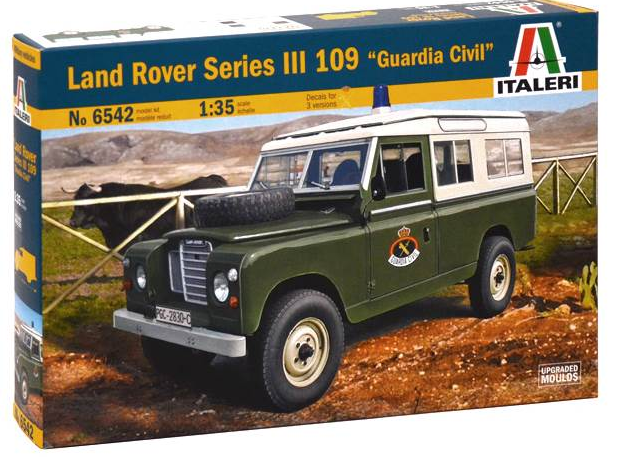 Italeri LAND ROVER III 109 Guardia Civil 1:35