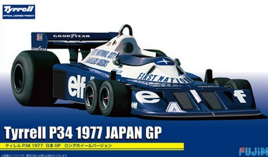 Fujimi Tyrrell P34 Japan GP 1977 1:20 092058