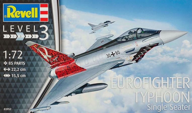 Revell Eurofighter Typhoon Single 1:72 03952