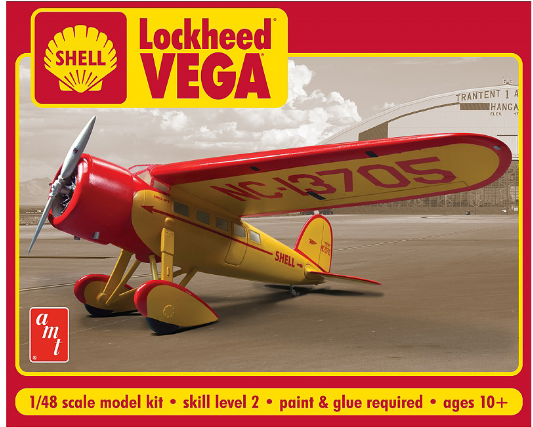 AMT Shell Oil Lockheed Vega 1:48
