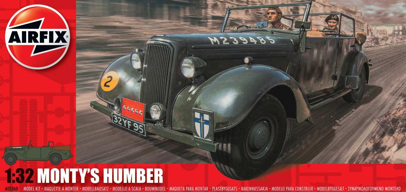 Airfix Monty's Humber Snipe Staff Car 1:32 A05360
